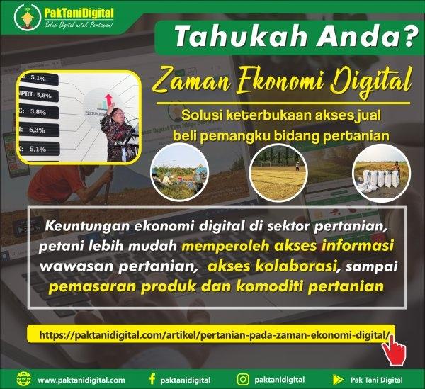 pertanian ekonomi digital