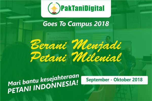pak tani digital goes to campus