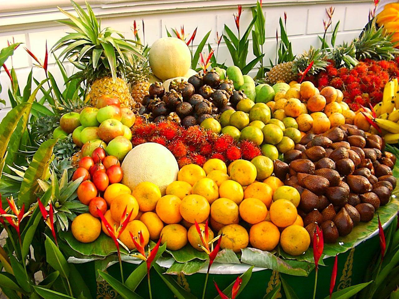 Buah-buahan, salah satu komoditas pertanian yang laris di pasar internasional