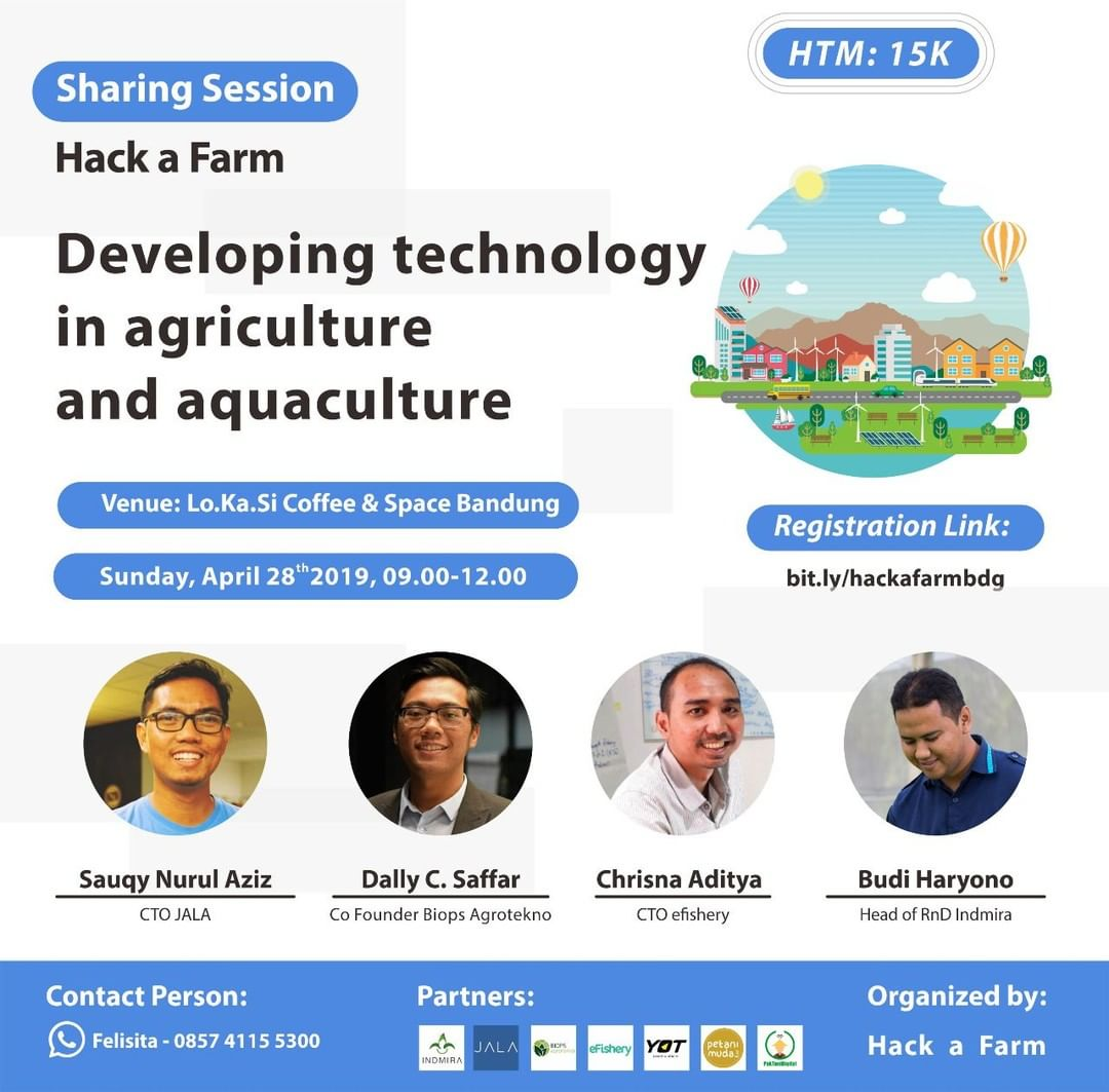 SHARING SESSION⠀ [DEVELOPING TECHNOLOGY IN AGRICULTURE & AQUACULTURE]