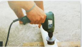 Melakukan Bor Pipa PVC
