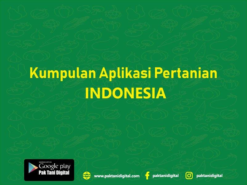 aplikasi pertanian di Indonesia