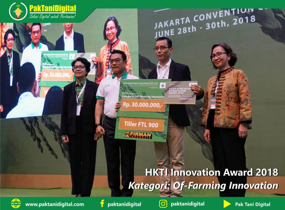 Pak Tani Digital HKTI Innovation Award 2018