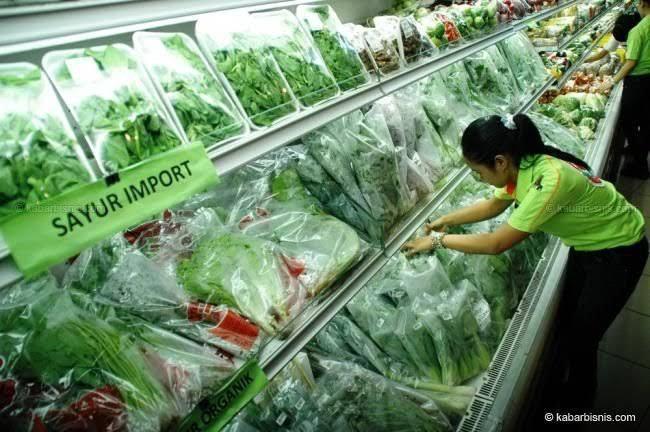Sayur Impor di Indonesia