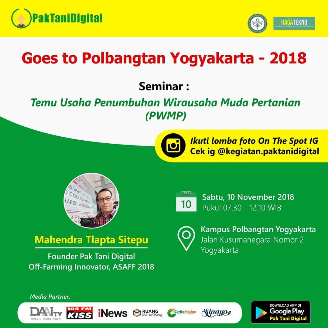 Flyer Goes to Campus Polbangtan Jogja