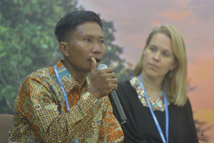 Suryono Berbicara di KTT PBB di Maroko 2016