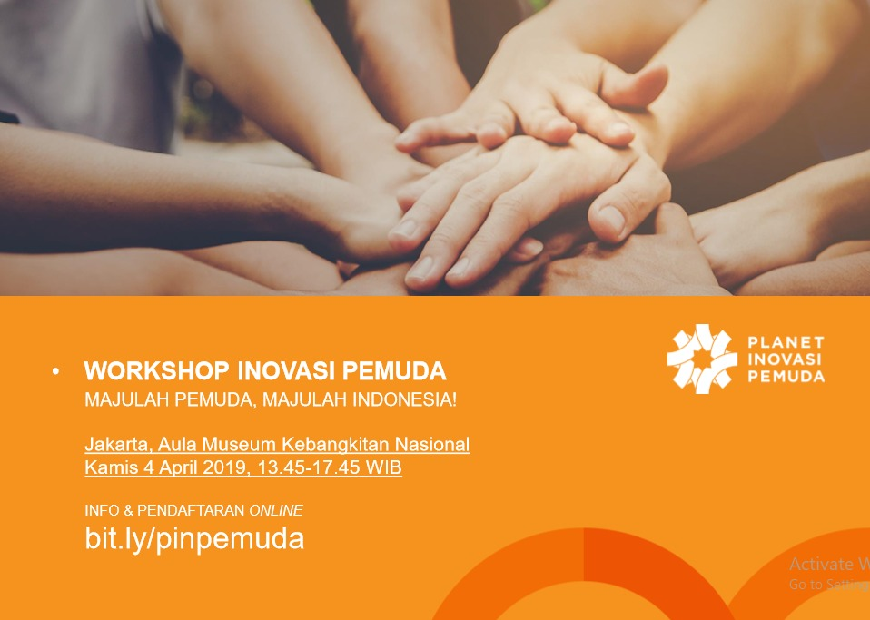 Workshop Planet Inovasi Pemuda