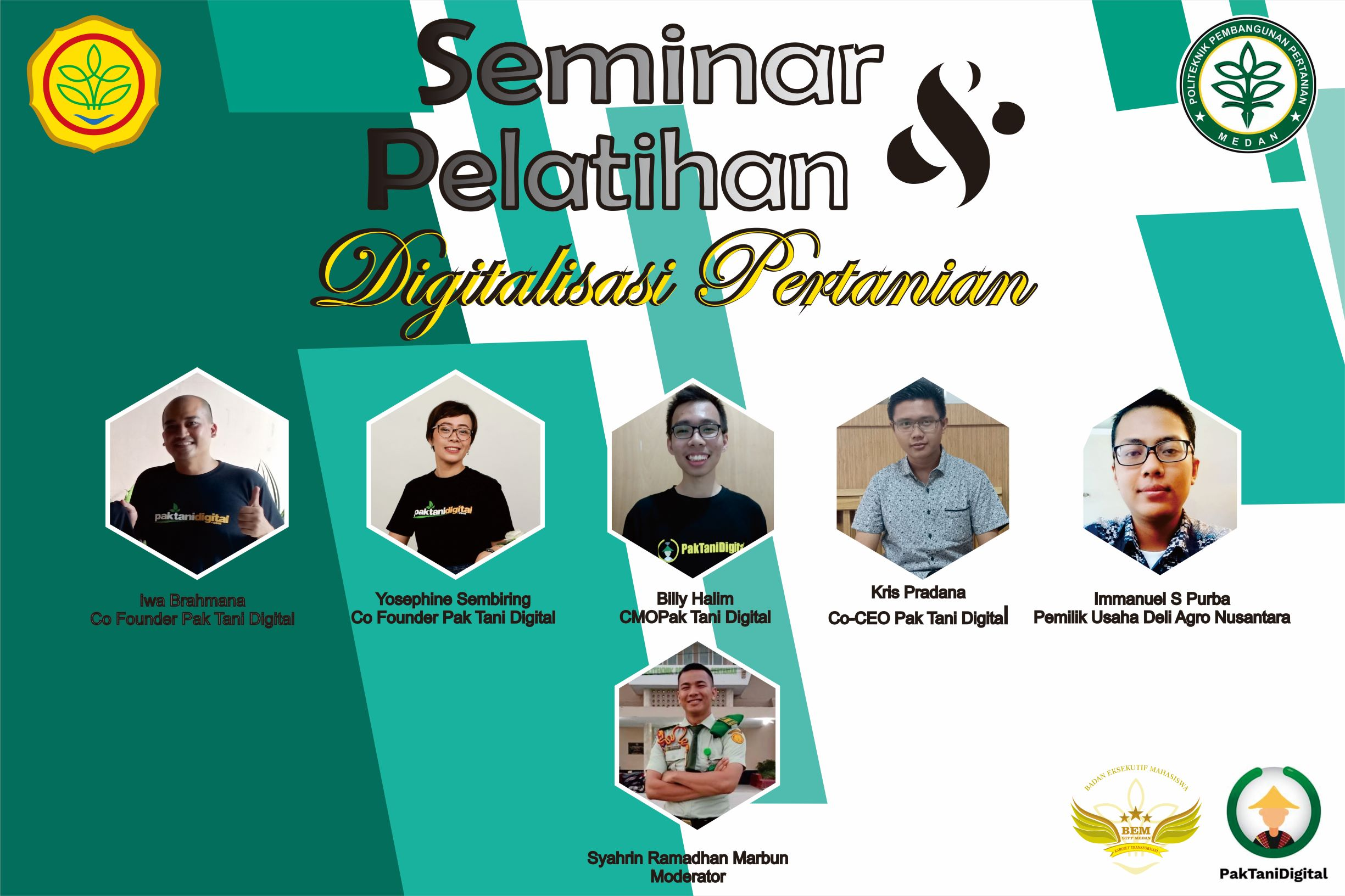 Pak Tani Digital Goes to Campus Polbangtan Medan