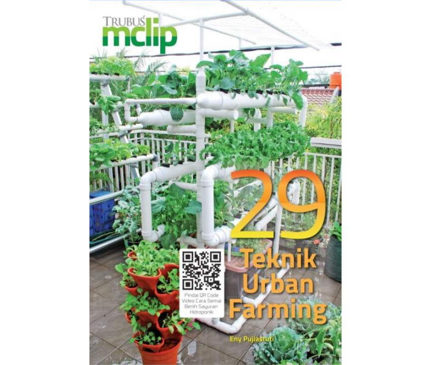 Review Buku 29 Teknik Urban Farming Pak Tani Digital