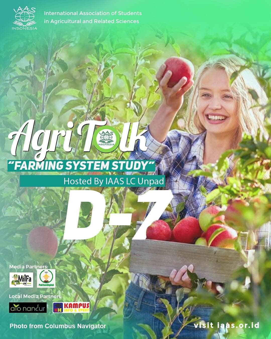 AGRITALK - Farming System Study