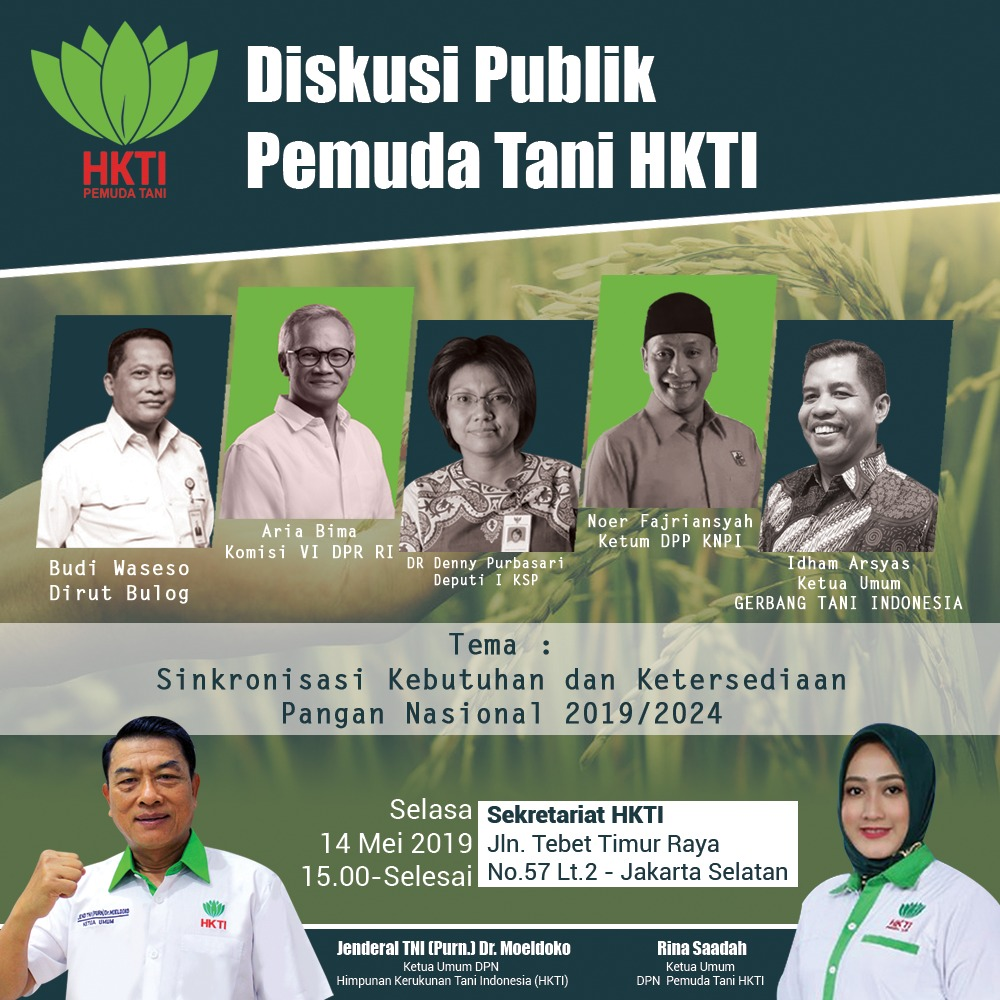Diskusi Publik Pemuda HKTI