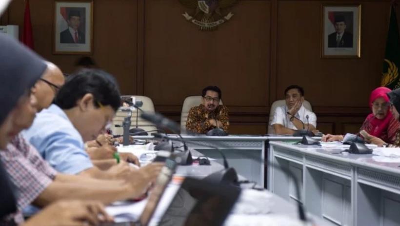 Direktur Jenderal Prasarana dan Sarana Pertanian (PSP) Kementan Sarwo Edhy