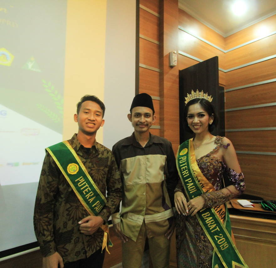 Foto Bersama Putera-Puteri Padi Jawa Barat 2019