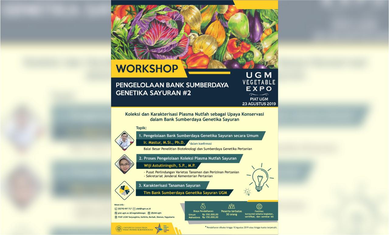 Workshop UGM Vegetable Expo