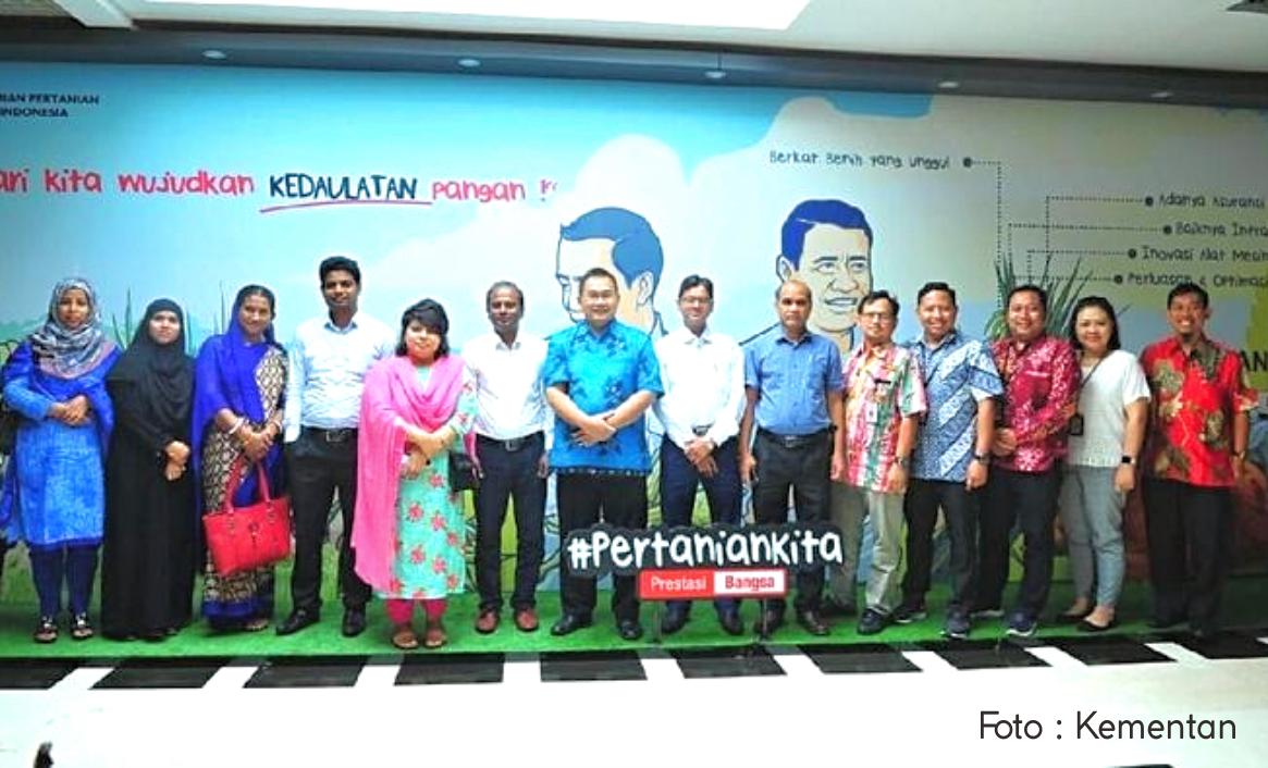 Bangladesh Tertarik Belajar Digitalisasi Pertanian di Indonesia