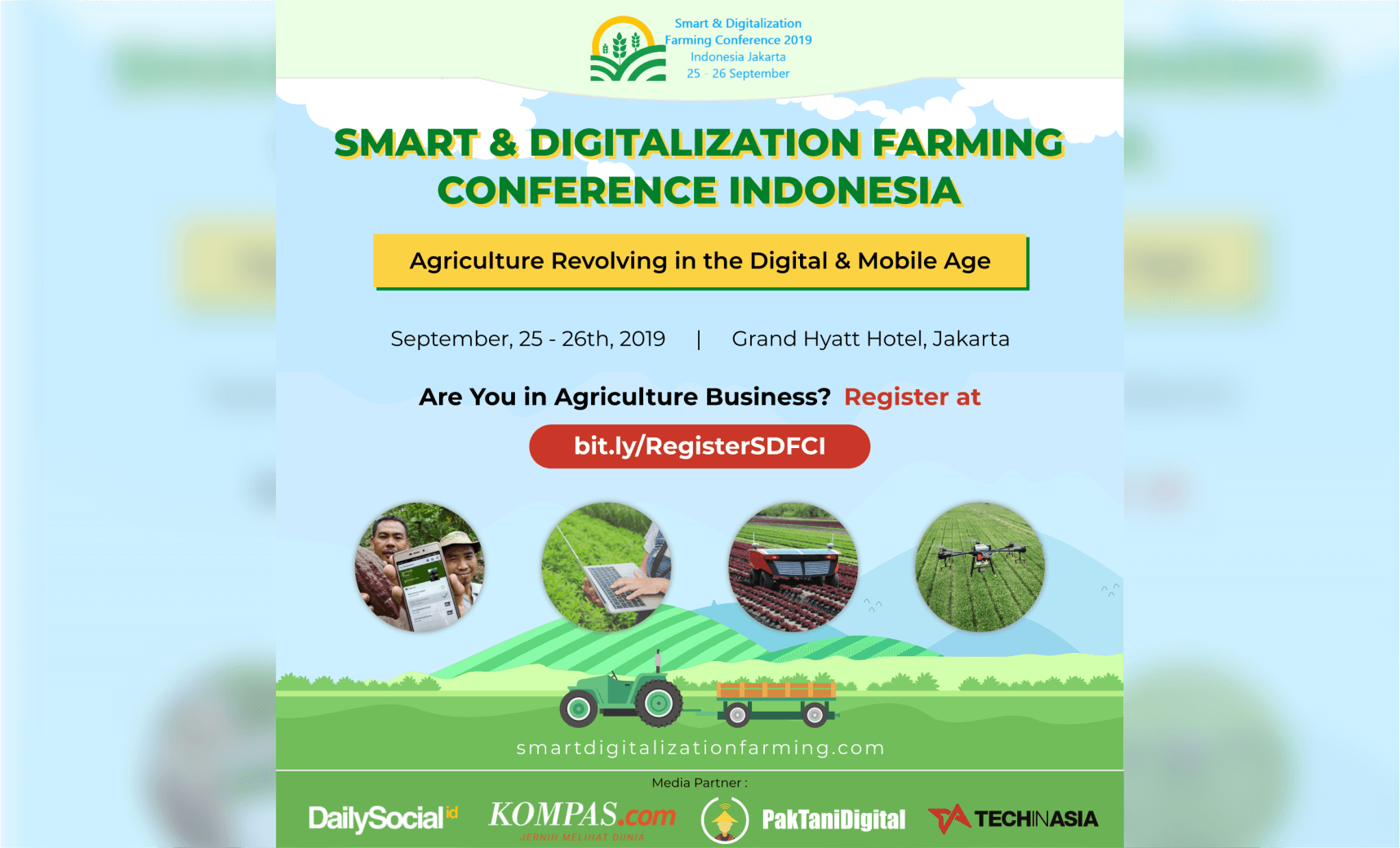 SMART & DIGITALIZATION FARMING CONFERENCE INDONESIA
