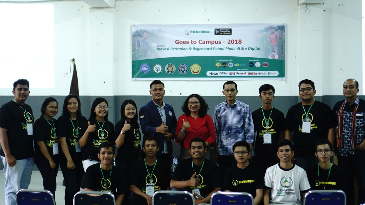 Foto Bersama Pak Tani Digital Goes to Campus UMI