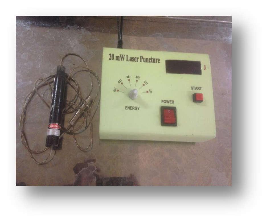 Laserpunktur