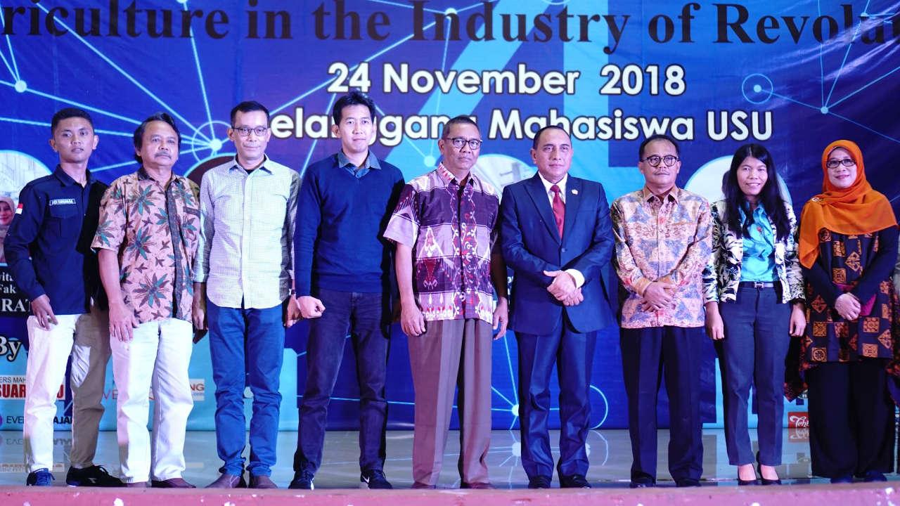 Pak Tani Digital Goes to Campus Universitas Sumatera Utara