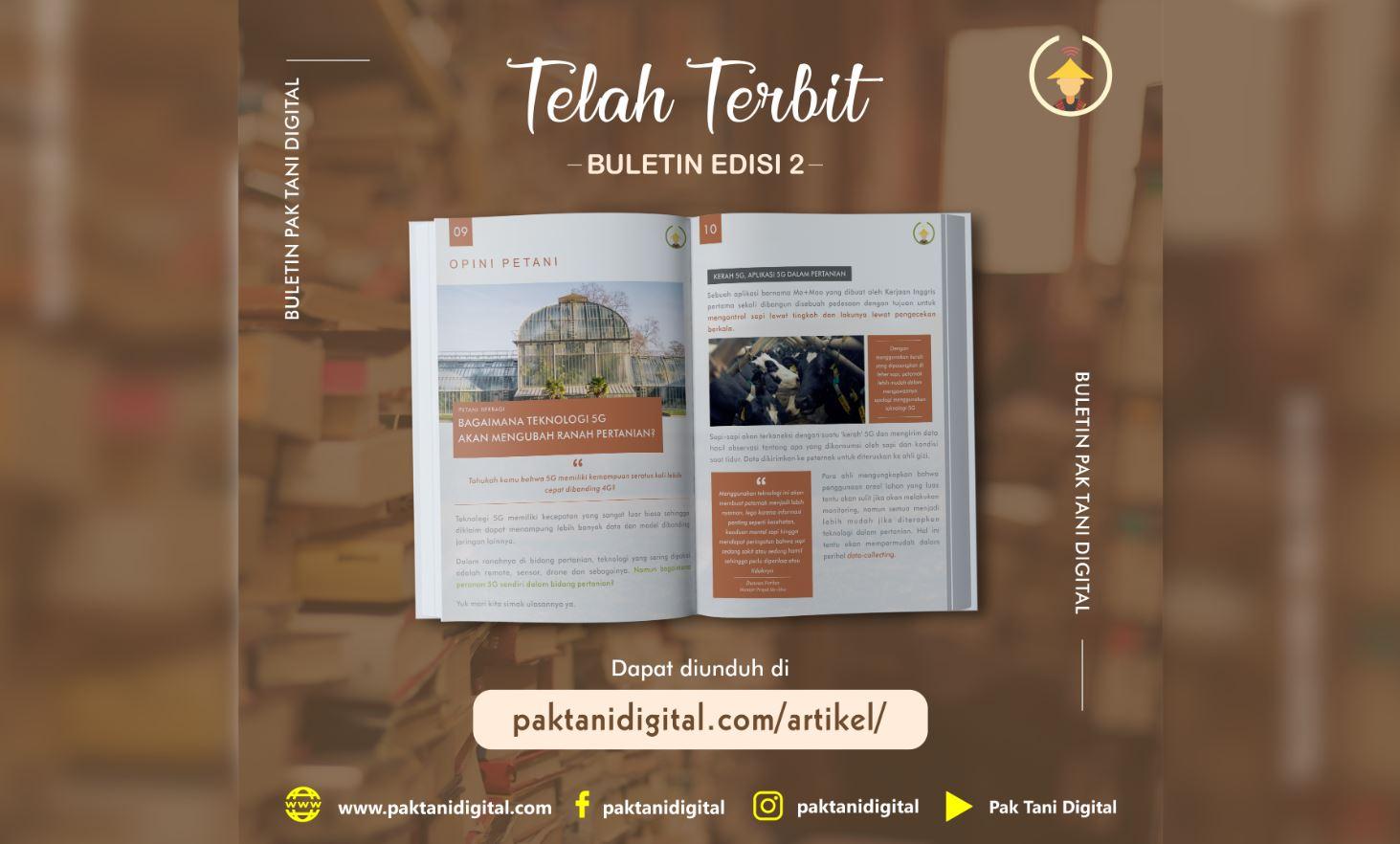 Buletin Pak Tani Digital Edisi 2