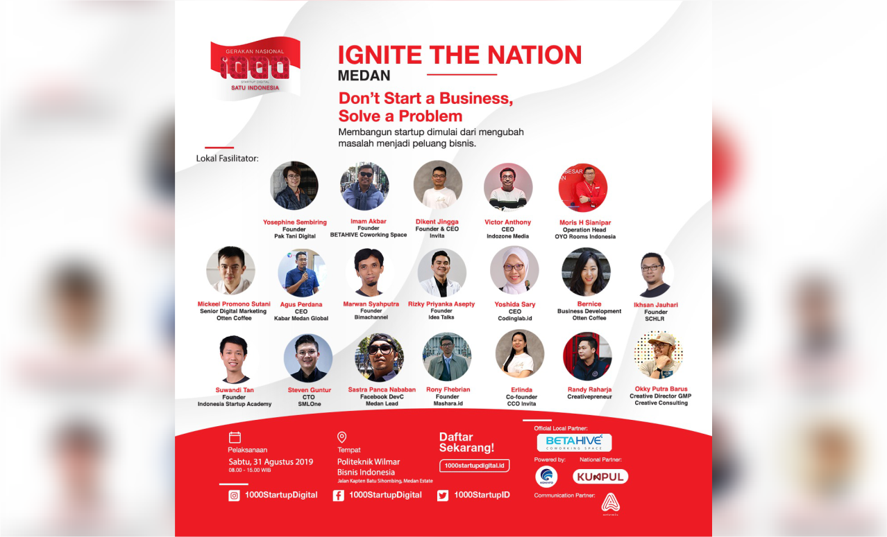 Ignite Nation 1000 Startup DIgital 2019