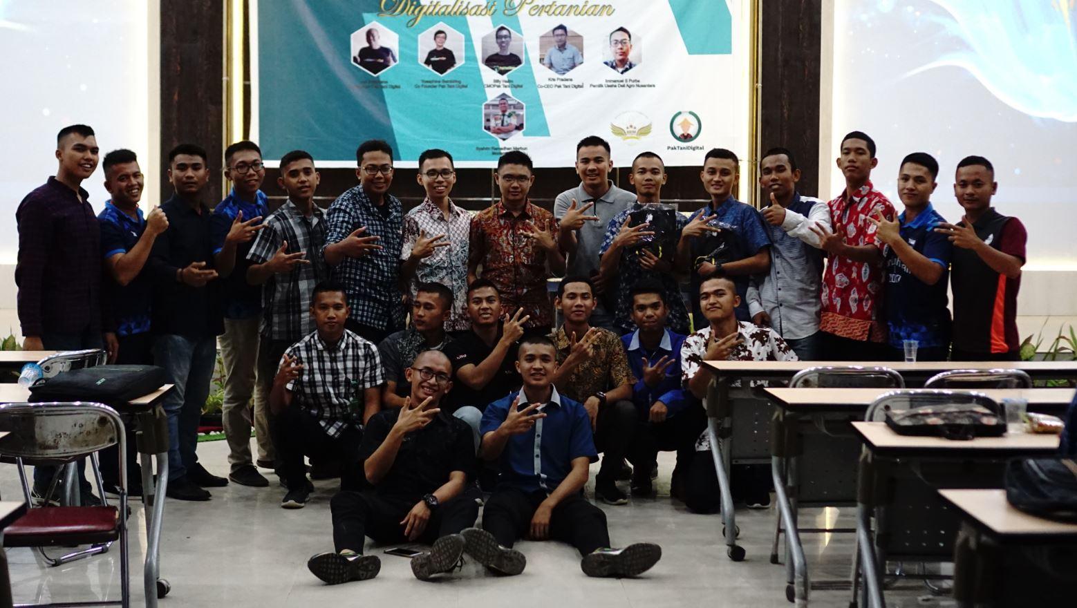 Pak Tani Digital Goes to Campus Polbangtan Medan
