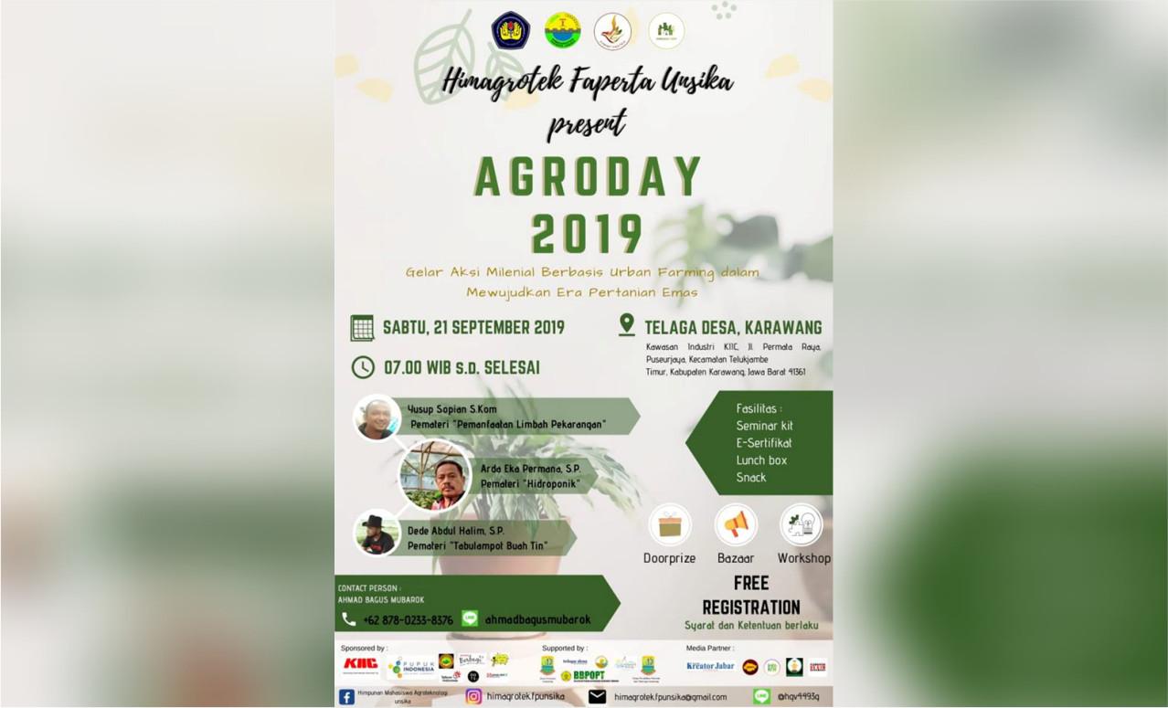 Agroday 2019 Faperta Unsika