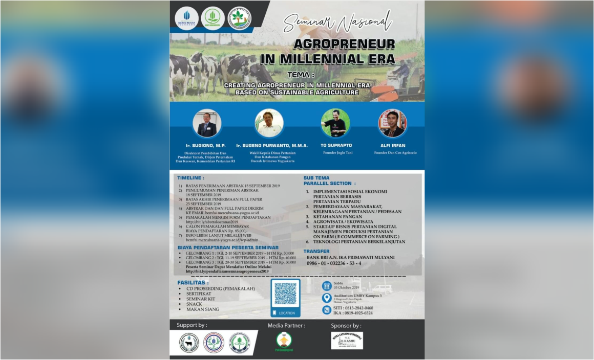 Agropreneur Millenial Area
