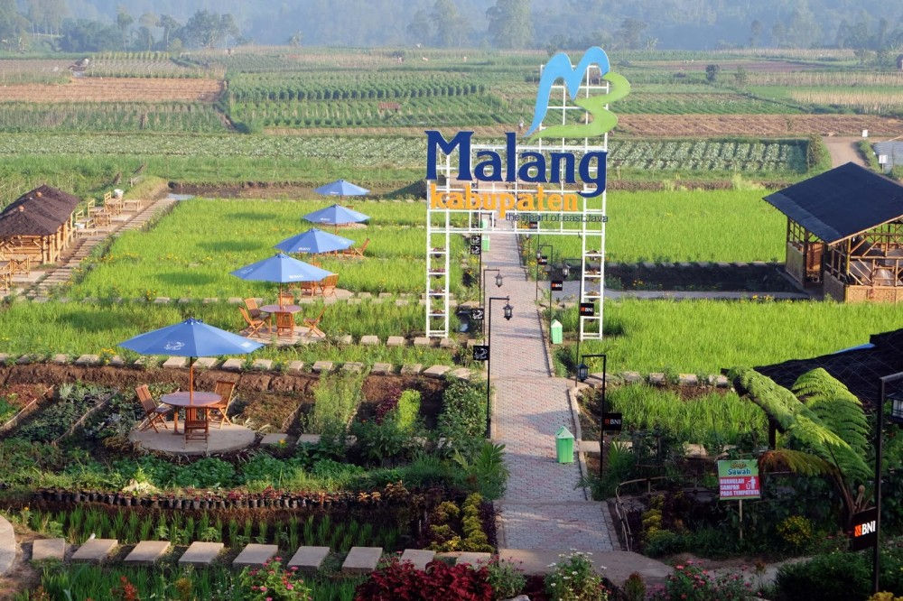 Desa Pujon Kidul di Malang, Jawa Timur