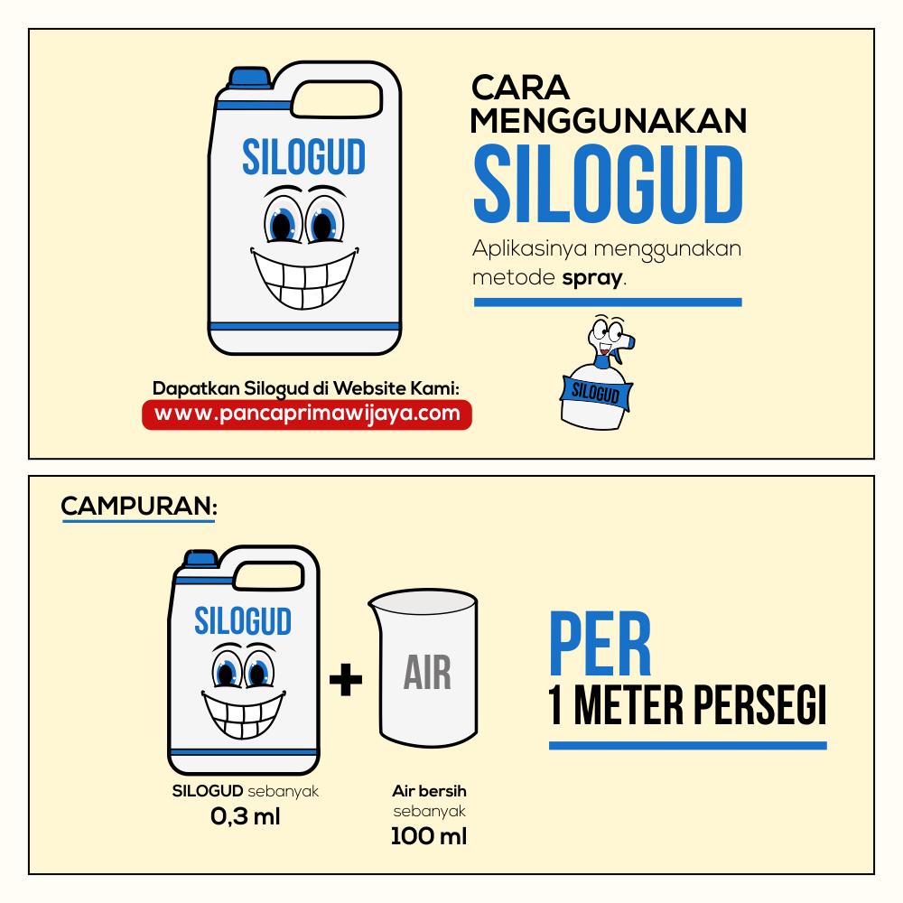 Menggunakan Silogud dengan Spray