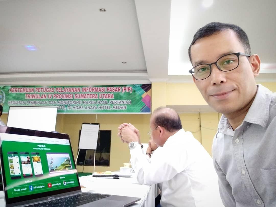 Pak Tani Digital Diundang ke Pertemuan Petugas PIP