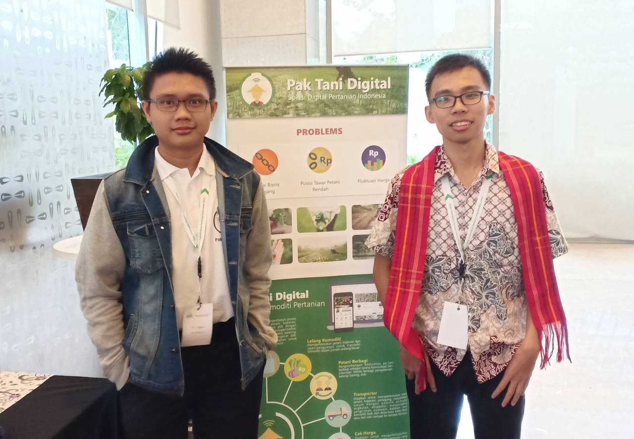 Pak Tani Digital Diundang ke acara Smart & Digitalization Farming Conference Indonesia