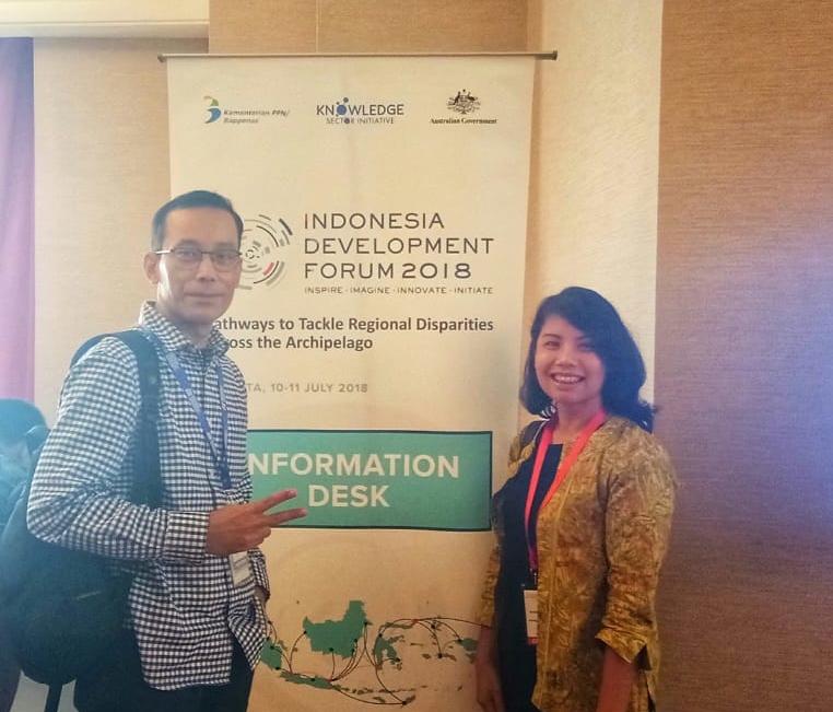 Pak Tani Digital Menghadiri Indonesia Development Forum (IDF) 2018