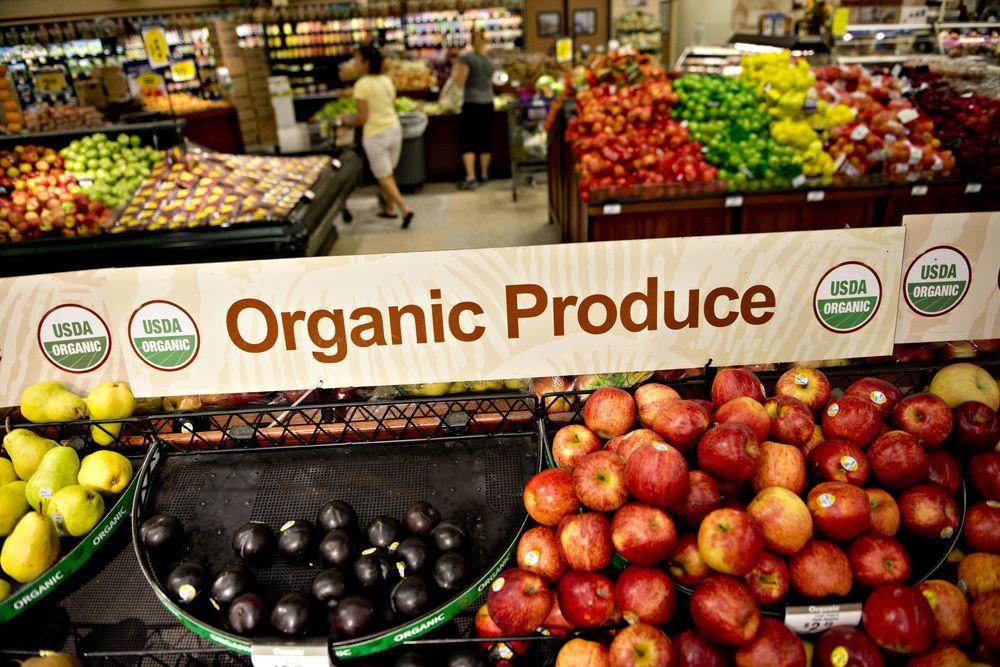 Produk pertanian organik
