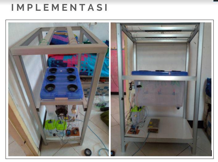 Prototipe Sistem Aeroponik Budidaya Kentang
