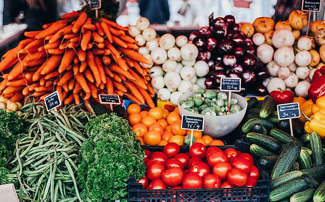 Makanan organik dan makanan anorganik