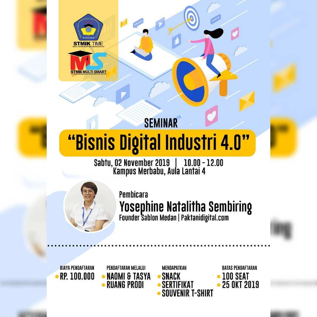 Seminar Bisnis Digital Industri 4.0