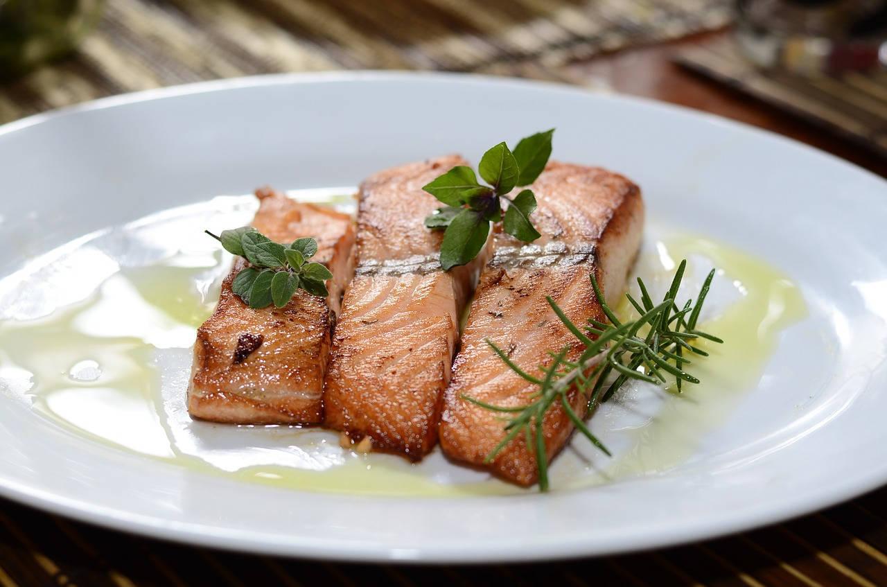 Olahan Daging Ikan Salmon