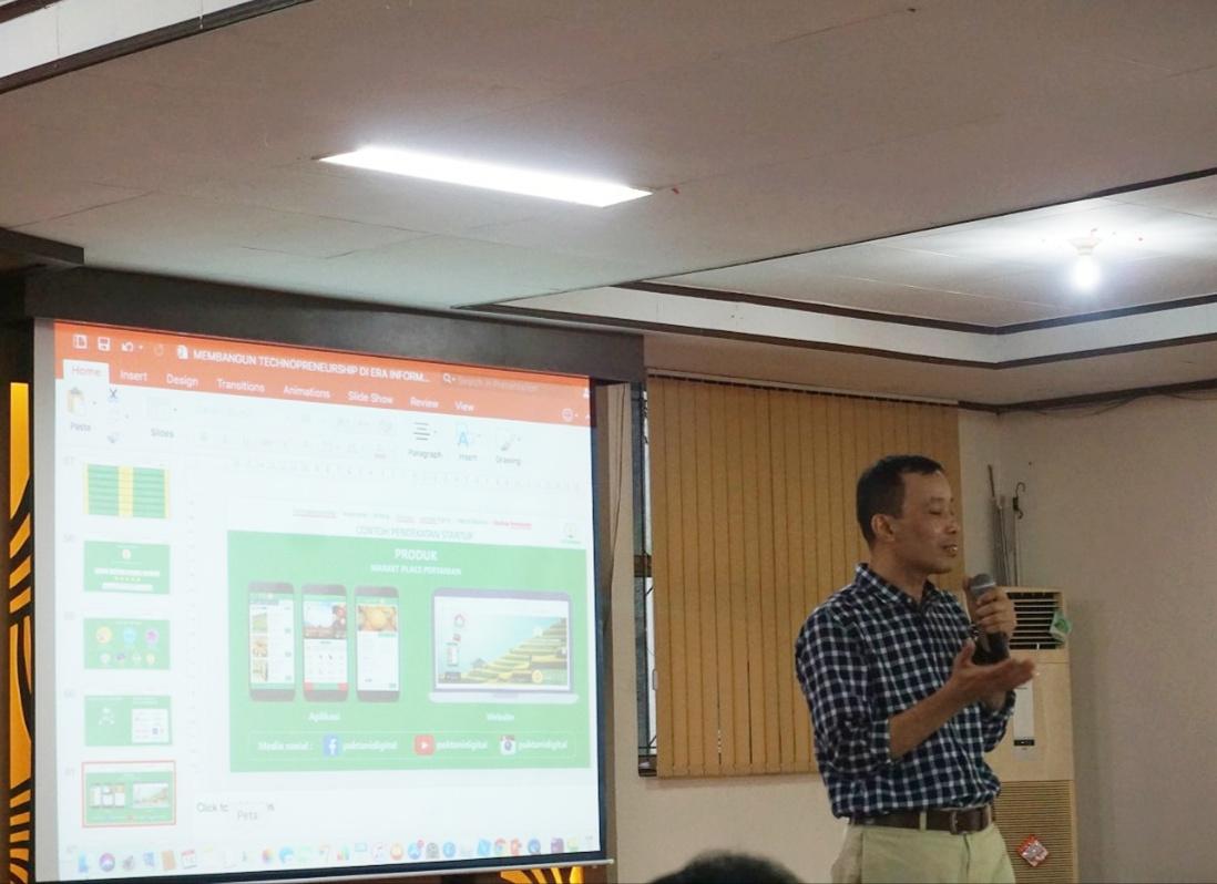 Pak Tani Digital Goes to Campus UNAND