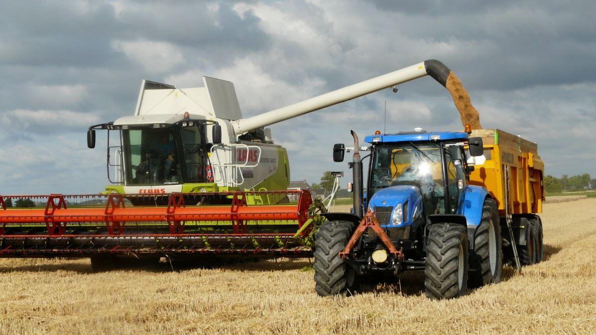 Mesin panen untuk pertanian 4.0