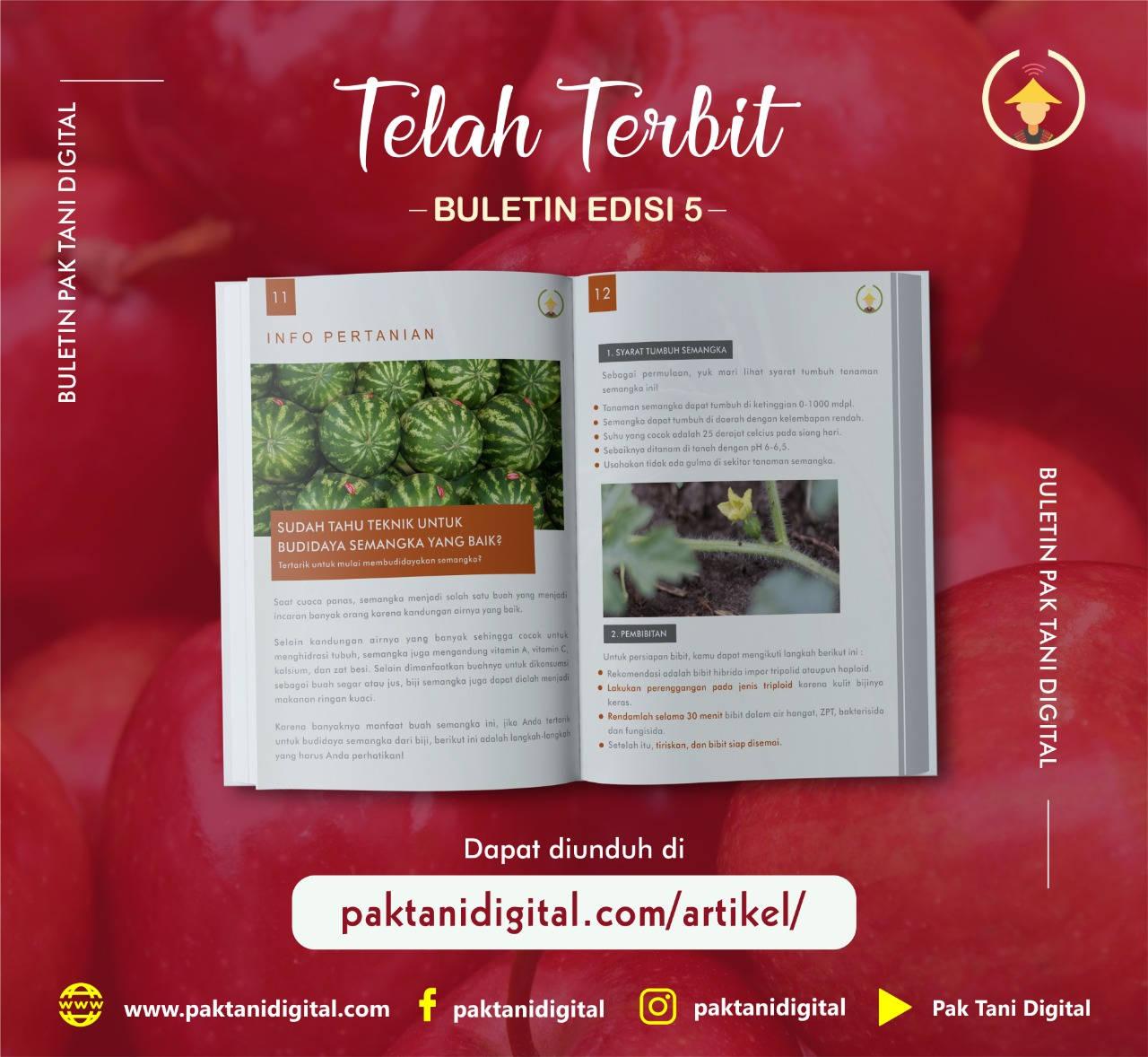 Buletin Pak Tani Digital Edisi ke-5