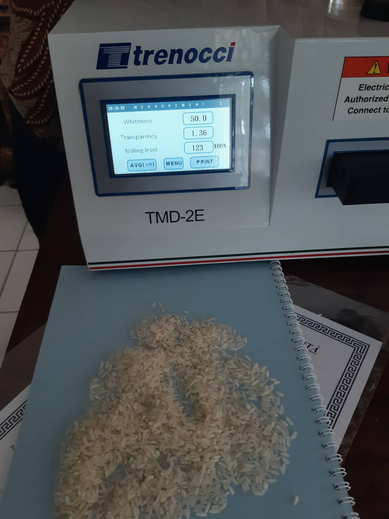 Miling Level Meter Trenocci TMD-3E