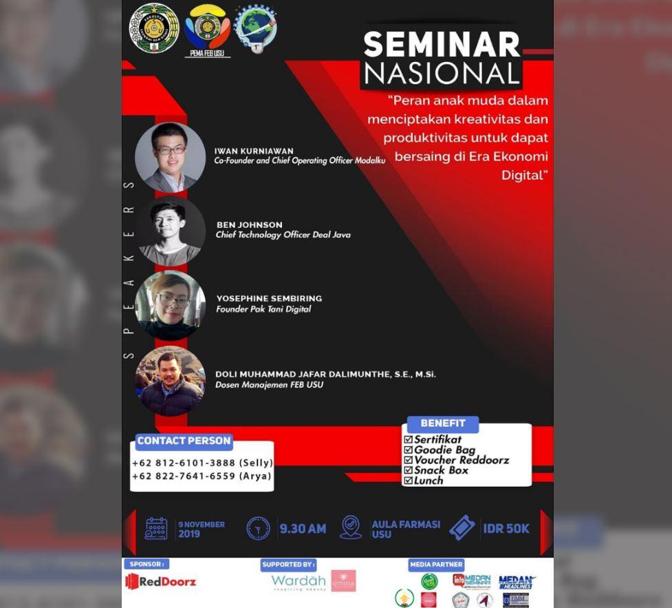 Seminar Nasional PEMA FEB USU