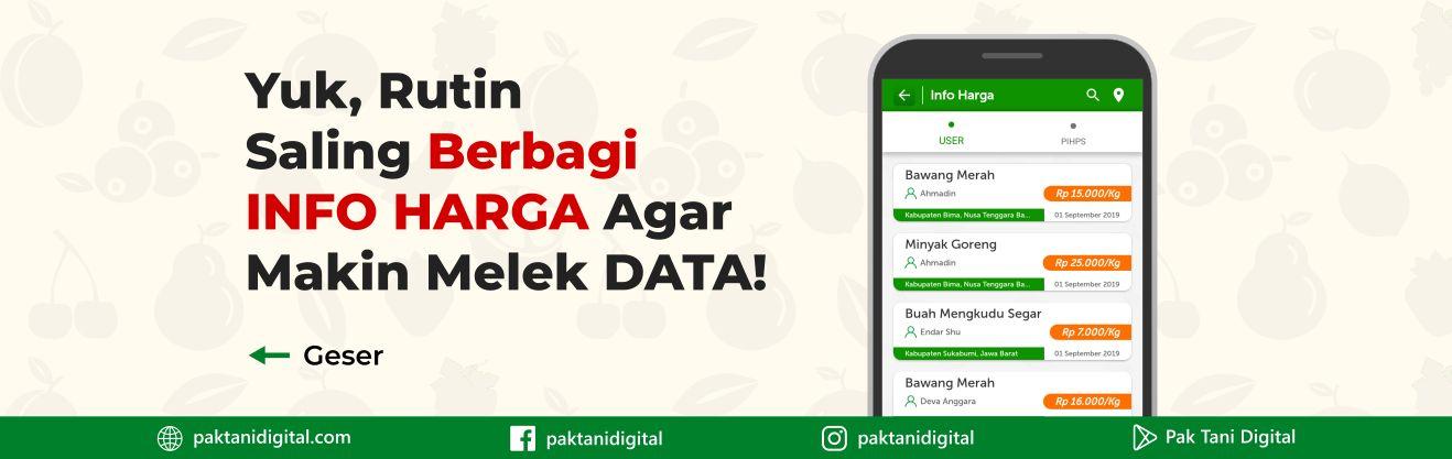 Berbagi Info Harga di Pak Tani Digital