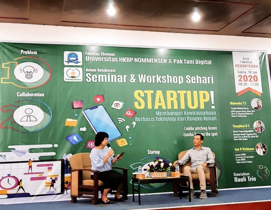Pak Tani Digital Goes to Campus HKBP Nommensen