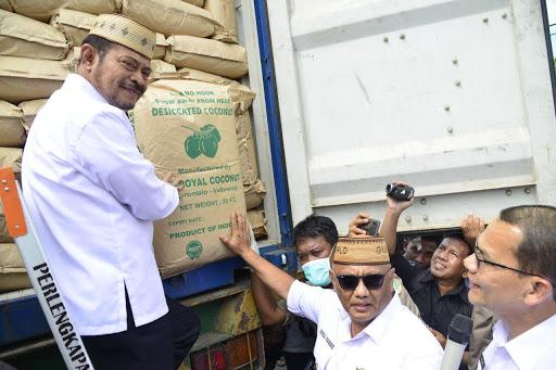 ekspor hasil pertanian