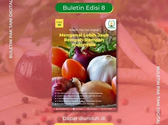 Cover Buletin 8 Pak Tani Digital