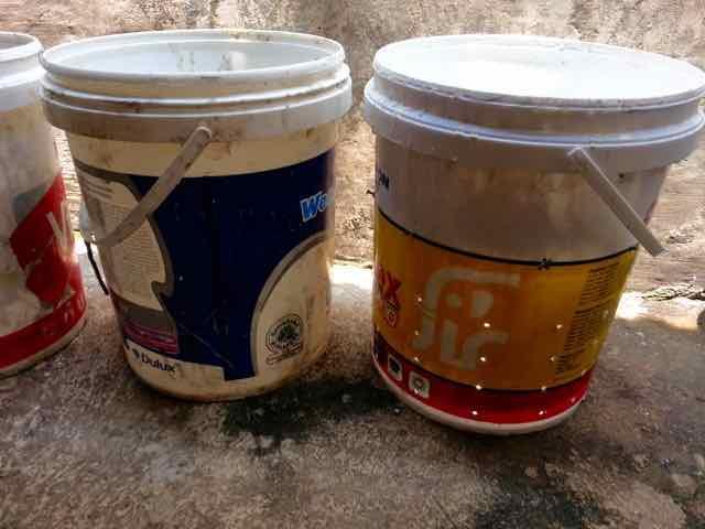 ember untuk komposter