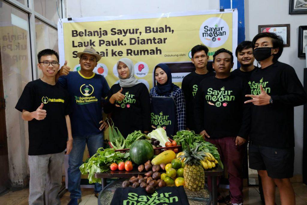 Soft Launching Sayur Medan