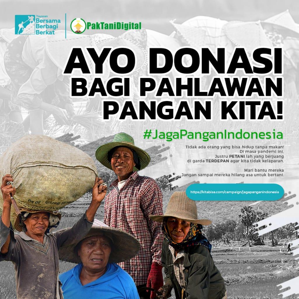 Donasi KitaBisa Pahlawan Pangan